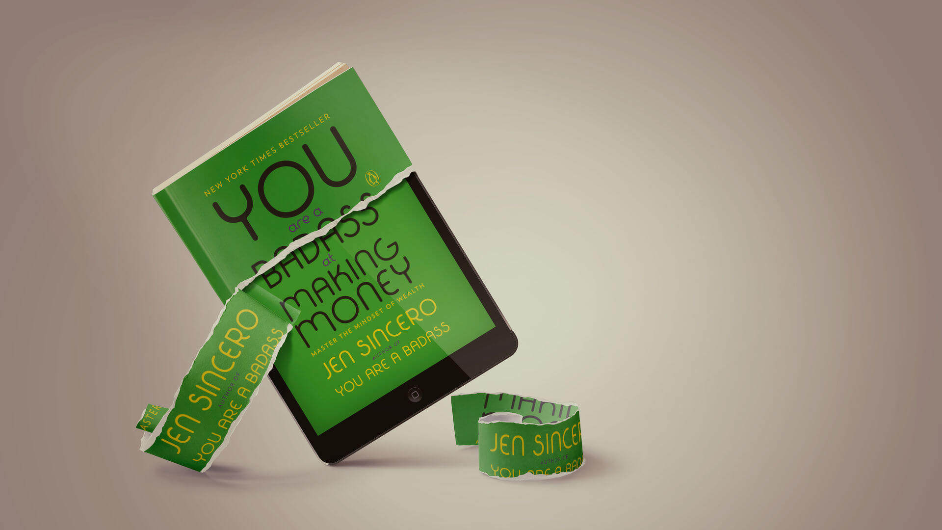 What's your relationship with money as an entrepreneur: You are a badass at making money by Jen Sincero