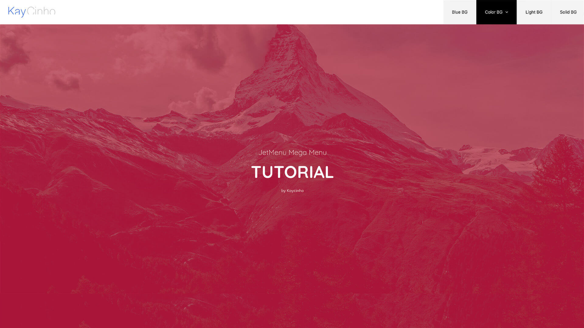 Wp Mega Menus: let your creativity flow with Elementor Pro and JetMenu from Crocoblock