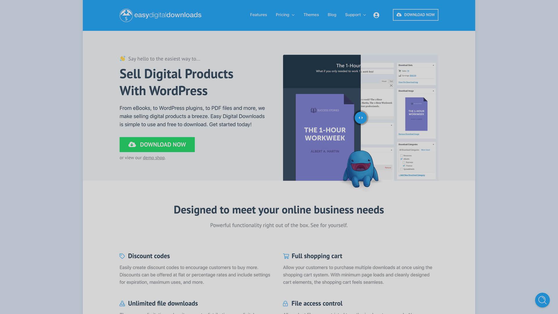 Selling Digital Products On WordPress: 2 - Easy Digital Downloads