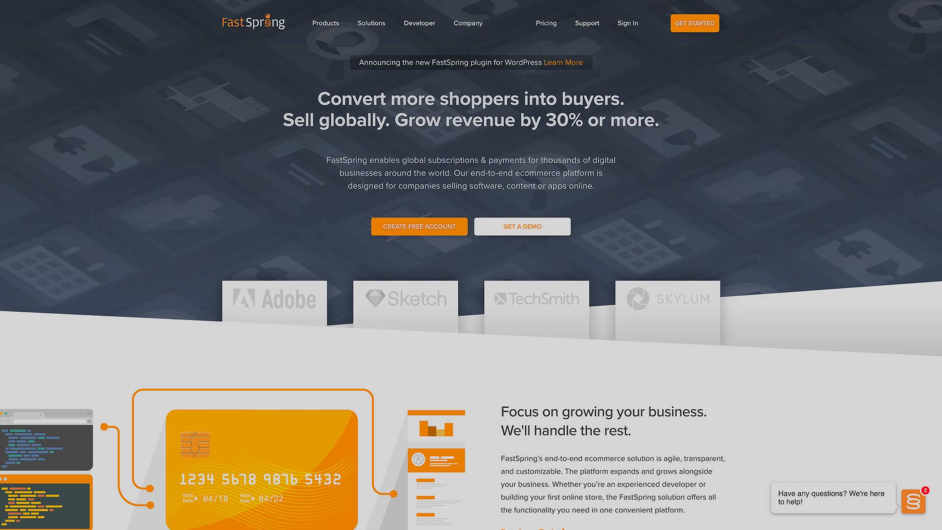 Selling Digital Products On WordPress: 3- FastSpring